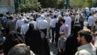 تصاویری از راهپیمایی در ایران برای حمایت از سوریه
