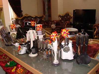 ایده های جالب برای تزیین آشپزخانه عروس (عکس)