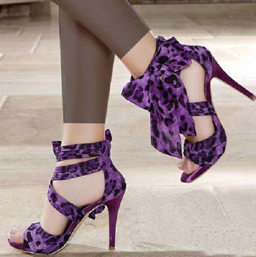 خرید اینترنتی کفش زنانه پاشنه دار