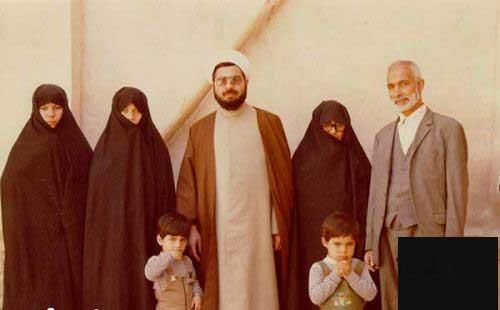 رونمایی عکس شخصی از خانواده آقای روحانی