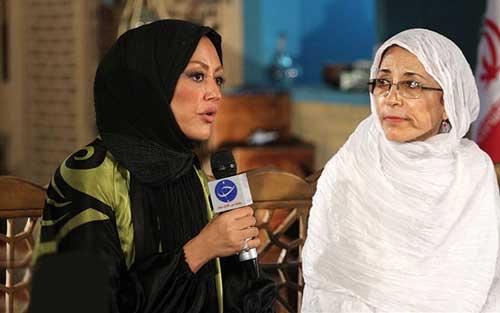 خبر فوری : مادر شقایق فراهانی هم کشف حجاب کرد