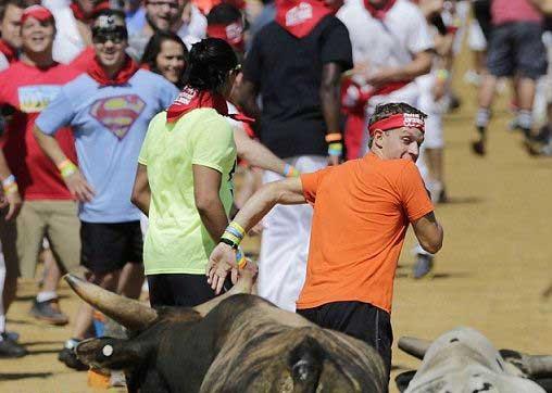 آشنایی با وحشی ترین و خونین ترین مسابقه (عکس)