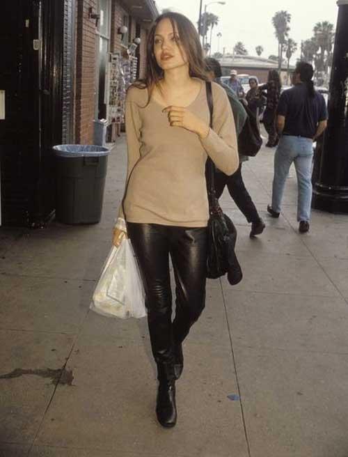 عکس های خصوصی آنجلینا جولی قبل از بازیگر شدنش