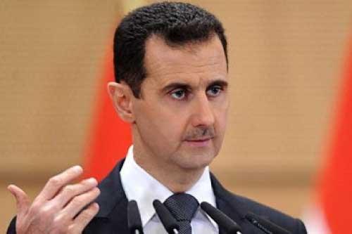 بشار اسد و خانواده اش در هواپیمای خصوصی (عکس)