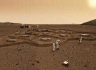 تصاویر جالب از آپارتمان نشینی در مریخ