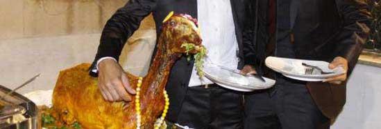 بهم خوردن عروسی مختلط در ایران (عکس)