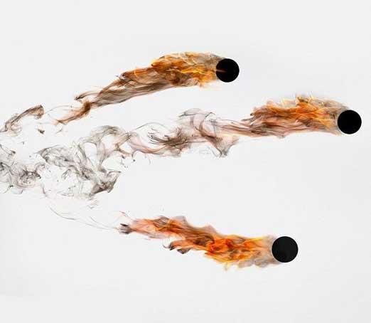 خلاقیت های فوق العاده با دود (عکس)
