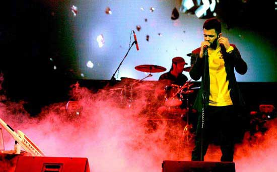 افراد معروف در کنسرت سیروان خسروی (عکس)
