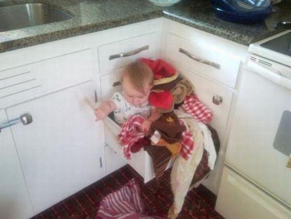 عکس های خنده دار از پدر مادرهای بی رحم
