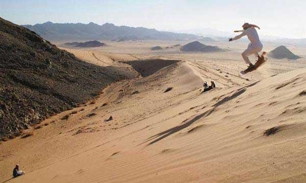 اسکیت مخصوص و خنده دار عرب ها (عکس)