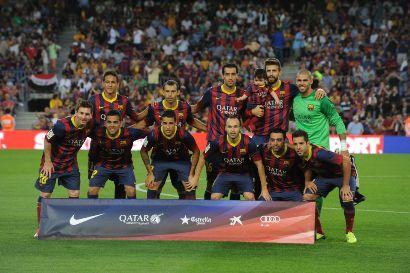 عکس جدید از میلان پیکه و شکیرا در بازی بارسلونا