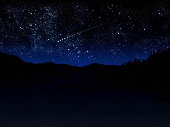 بارش شگفت انگیز ستاره بر کره ی زمین (عکس)