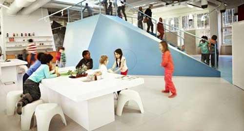 ایده جالب برای مدارس در آینده (عکس)
