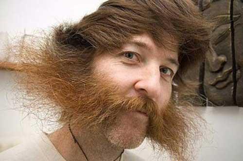 مدل های عجیب و خنده دار موی آقایون (عکس)