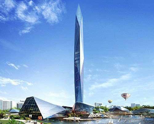 اولین برج بی نظیر نامرئی در دنیا 1