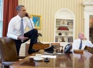 عکسی از باراک اوباما که سوژه رسانه ها شد