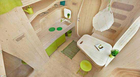 خانه تاشو دانش آموزی (عکس)