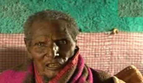 کشف یک پیرمرد فسیل شده (عکس)