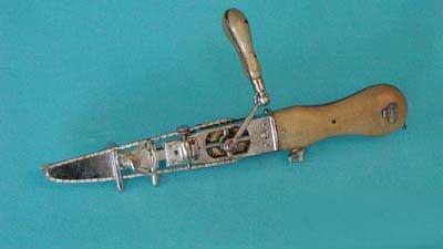 وحشتناک ترین وسیله های جراحی (عکس)
