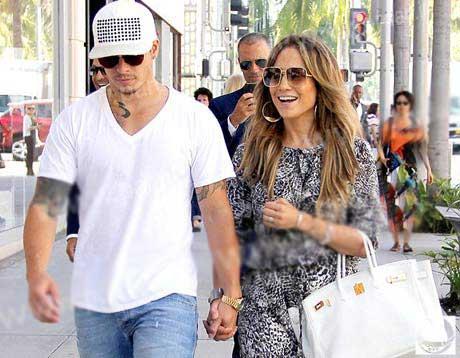 گردش عاشقانه جنیفر لوپز با دوست پسرش در لس آنجلس