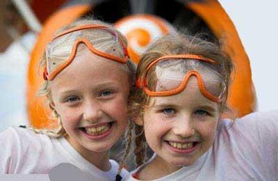 کار مهیج و غیر قابل باور دو دختر 9 ساله