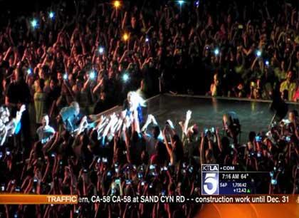 جنجال بزرگ در کنسرت بیانسه بخاطر یک دیوانه