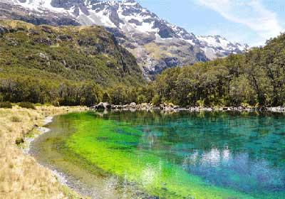 تا به حال دریاچه به این زلالی دیده بودید؟ (عکس)