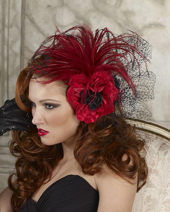 نمایش پست :مدل های گل موی عروس جدید