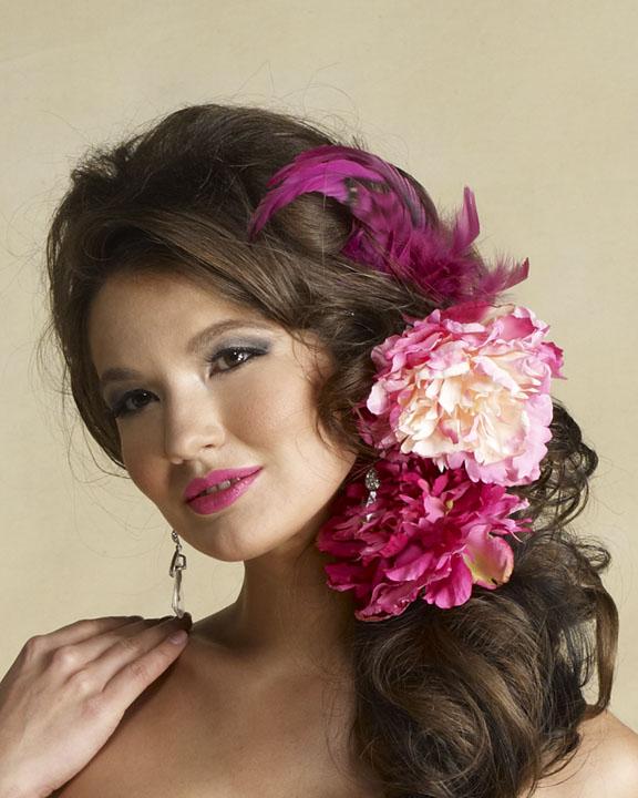 مدل های گل موی عروس جدید