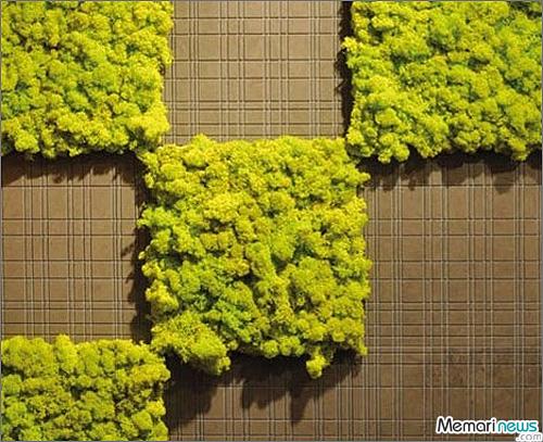 نمایش پست :با این کاشی ها روی دیوار خانه باغ ایجاد کنید..(عکس)