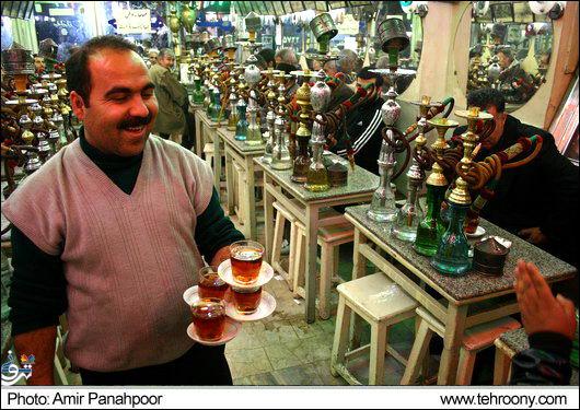 تاریخچه قهوه خانه در ایران !
