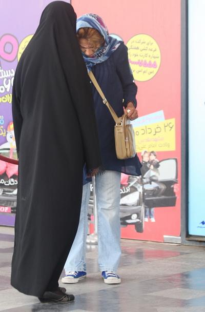تصاویری جدید طرح ارتقای امنیت اجتماعی و مبارزه با بدحجابی..!