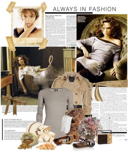 پوشش لباس به روش همسر دیوید بکهام..!