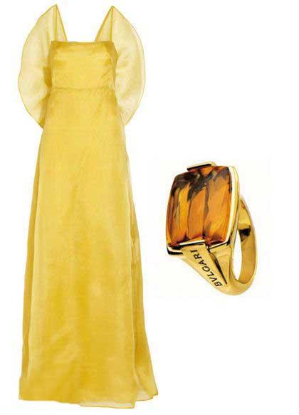 ست جالب انگشتر با لباس (عکس)