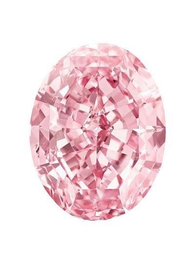 قیمت باورنکردنی با ارزش ترین الماس صورتی جهان (عکس)