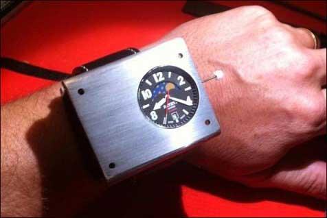 دقیقترین زمان با این ساعت عجیب (عکس)