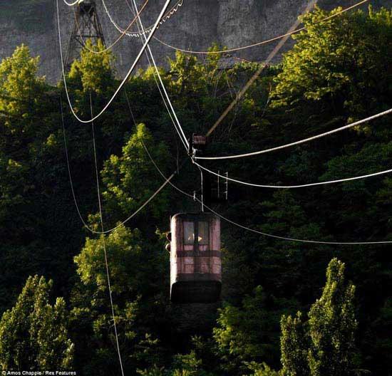 تله کابینی که یک قدمی مرگ است (عکس)