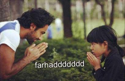 عکس جالب فرهاد مجیدی با یک دختر کره ای