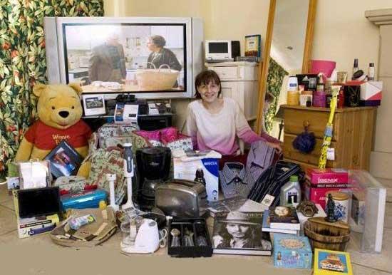 زنی با اعتیادی عجیب و پر هزینه (عکس)