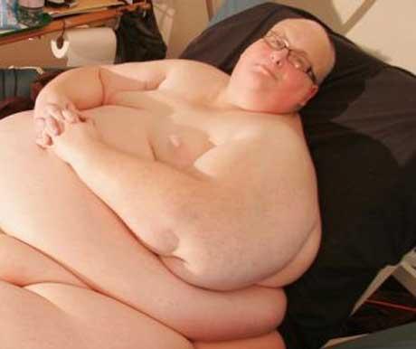 نجات مرد چاق توسط فرشته نجات (عکس)