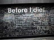 تابلوی عجیب قبل از مرگ (عکس)