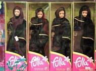 عروسک باربی و رقیب جنجالی اش (عکس)