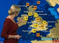 سوتی باحال مجری زن شبکه بی بی سی (عکس)