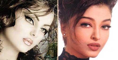 شباهت باورنکردنی این دختر ایرانی به آیشواریا رای (عکس)