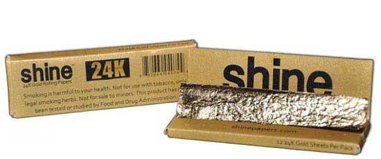 سیگاری طلایی عجیب و گران قیمت (عکس)