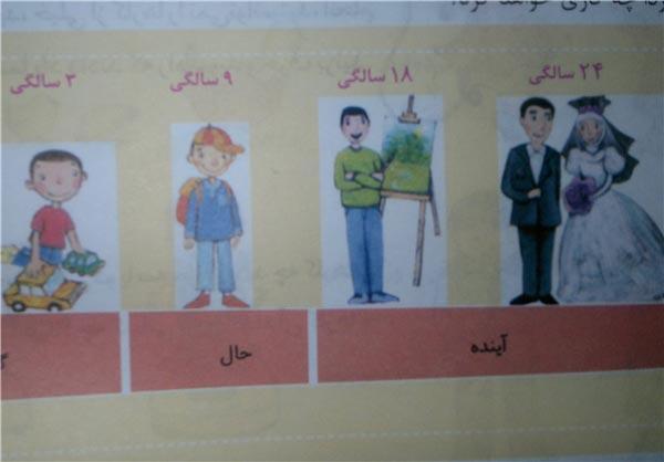 آموزش عجیب ازدواج به دبستانی های ایرانی