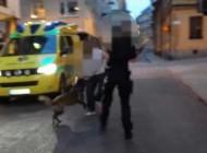 عکسی جالب از دستگیری پلیس بجای مجرم !