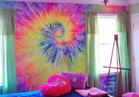 سبک متفاوت رنگ آمیزی دیوار (عکس)