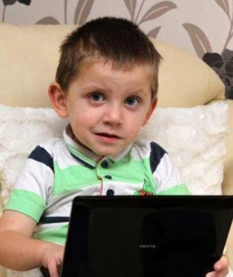 خشن ترین کودک جهان (عکس)