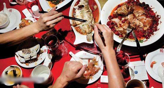 عکس های فوق العاده از بزرگترین رستوران غذای چینی
